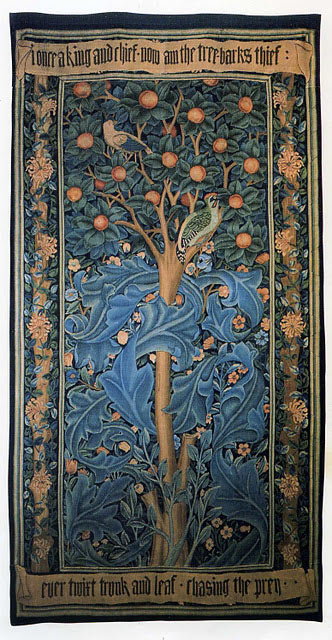 William Morris, The Woodpecker