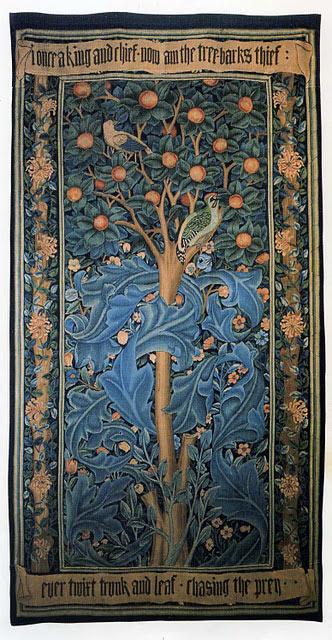 William Morris, The Woodpecker