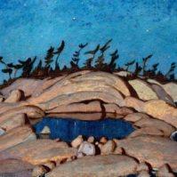 Night, Pine Island