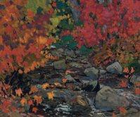 Autumn Leaves, Batchewana Wood