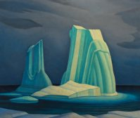 Icebergs, Davis Strait