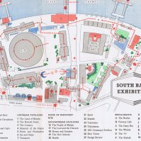 Plan of South Bank Exhibition