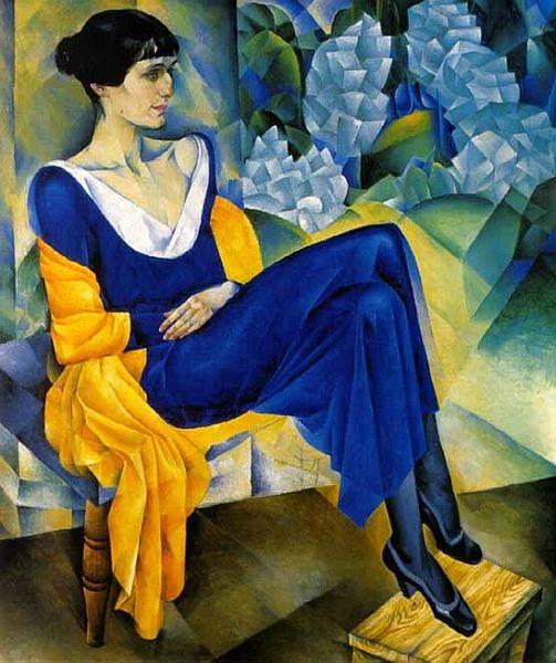 Nathan Altman Anna Akhmatova 1914