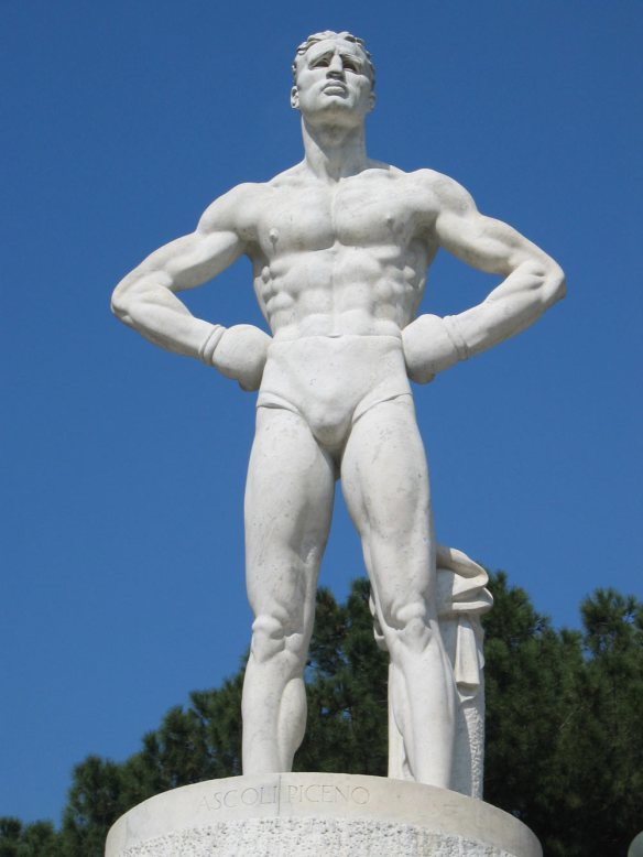 Sport Italia - Idealised Fascist Man