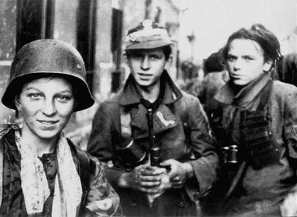 Jerzy Tomaszewski - Warsaw Uprising