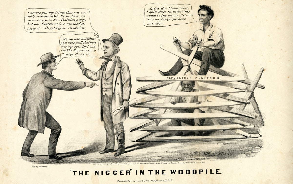 'The Nigger' in-the-Woodpile