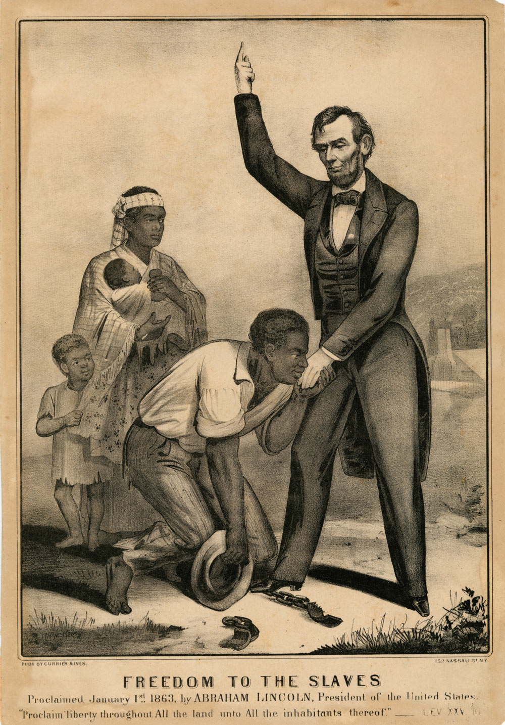 How lincoln freed the slaves