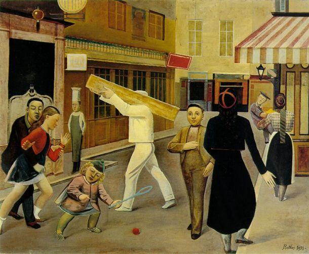 Balthus-The-Street-1933