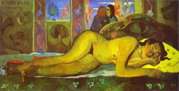 Paul Gauguin, Nevermore (O Tahiti)
