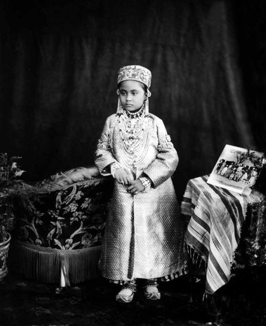 Princess Nizam Un Nisa Begum of Hyderabad 11 November 1890