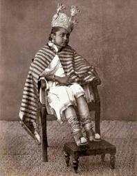 Princess Shah Jahan (1838-1901) of Bhopal, November 1862