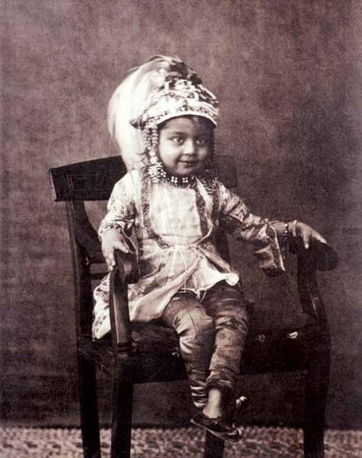 Princess Sultan Jahan (1858-1910) of Bhopal, November 1862