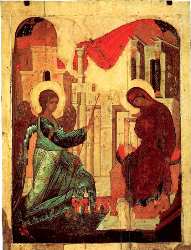 Andrei Rublev, 'The Annunciation'