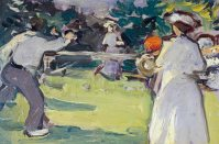 A Game of Tennis, Luxembourg Gardens