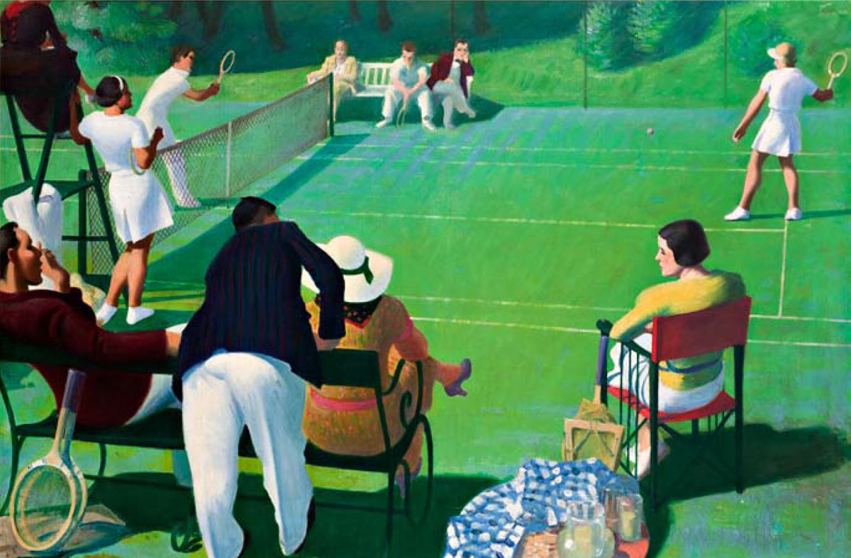 Court On Canvas Tennis In Art The I B Tauris Blog