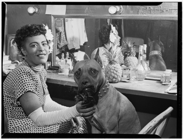 Billie Holiday with Mister Downbeat