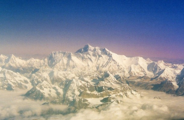 Flying Everest