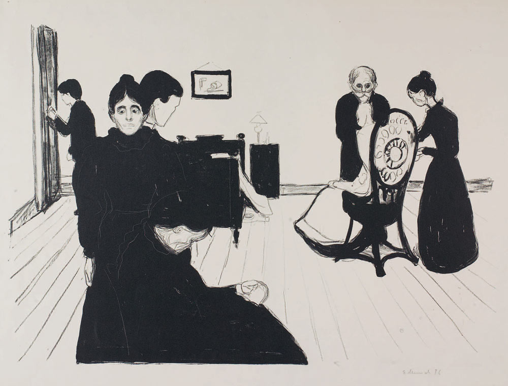 The Prints and Graphic Works of Edvard Munch
