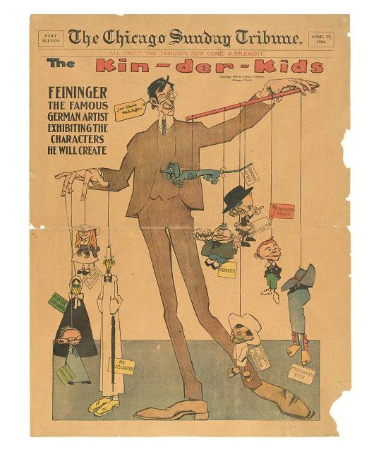Lyonel Feininger Chicago Sunday Tribune
