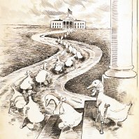 The Post Season Parade, March 5, 1915