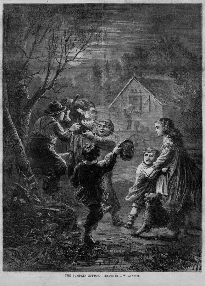 Looking for Halloween in the Nineteenth-Century
