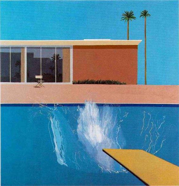 David Hockney, A Bigger Splash