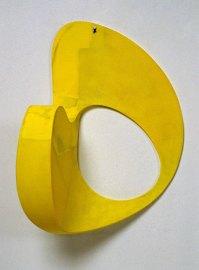 arth Evans, Mirror, Mirror, 1990-91, epoxy resin, fibreglass, paint over foam core and paper, 71.1 x 45.5 x 33 cm