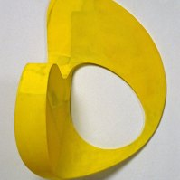 arth Evans, Mirror, Mirror, 1990-91, epoxy resin, fibreglass, paint over foam core and paper, 71.1 x 45.5 x 33 cm