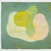 Garth Evans, Watercolour No. 73, 1991, watercolour on paper, 29.2 x 25.4 cm