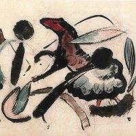 Vignette: Zwei Pferdchen (Vignette: Two Horses), 1912