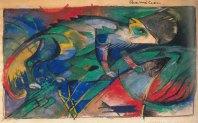 Chamaleon (Chameleon), 1913, Japan Sketchbook