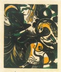 Schopfungsgeschichte II (The Creation II), 1914