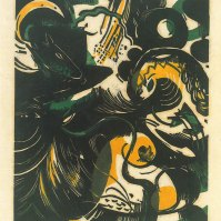 Schopfungsgeschichte II (The Creation II), 1914