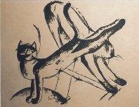 Spielende Katzen (Playing Cats), 1912/13