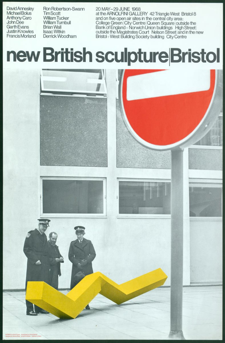 Babar, on cover of new British sculpture/Bristol, 1968, courtesy of Derek Balmer and Arnolfini, Bristol