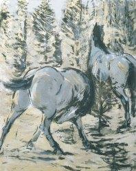 Pferde in der Sonne (Horses in the sun), 1908/09
