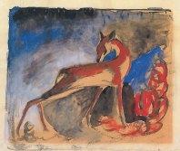 Rotes Reh (Red Deer), 1911