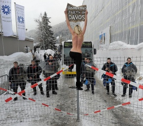 FEMEN's Naked Exhibitionism