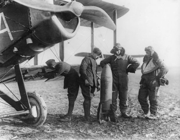 Air and Sea Power in WWI