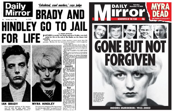 Myra Hindley, Daily Mirror