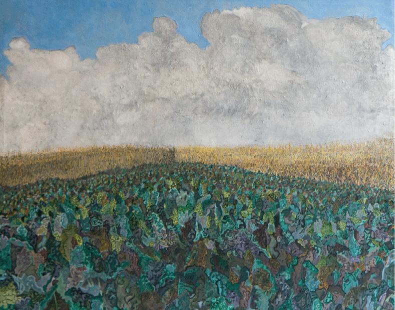 Rain Soaked Field - Suffolk