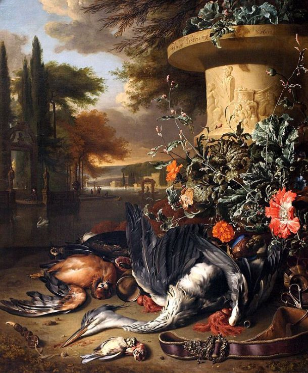 Jan Weenix, Falconer's Bag