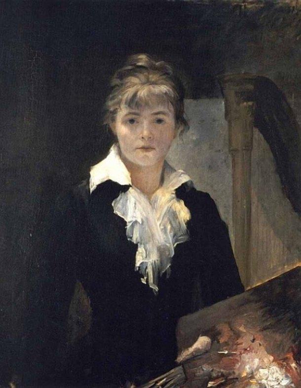 Marie Bashkirtseff, Self-Portrait