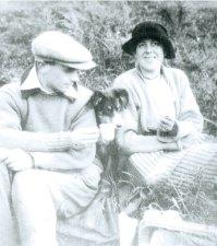 Ben and Winifred Nicholson, c. 1923