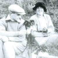 Ben and Winifred Nicholson, c. 1923