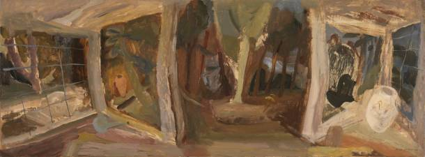 ivon Hitchens, Winter Stage