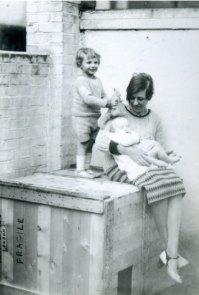 Winifred Nicholson with Jake and Kate