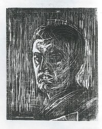 Self-portrait Facing Left