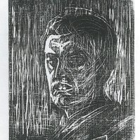Self-portrait Facing Left