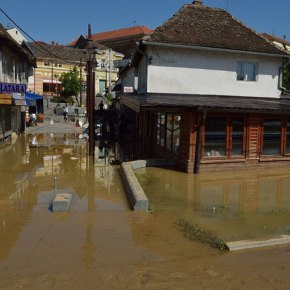 Floods in Bosnia create new landmine risk